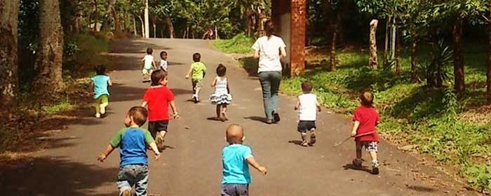 Our Missionary Work.  Children at Play.